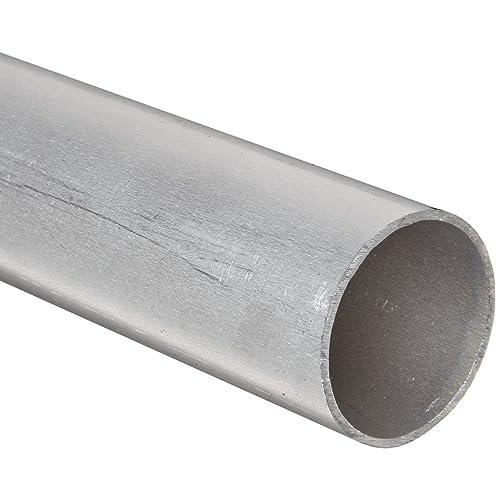 Mill ASTM B221 Extruded 6061 Aluminum Round Rod 13//16 Diameter Unpolished T6511 Temper Finish 12 Length