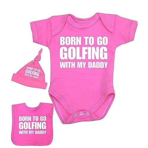 Babyprem Baby Set Born to go Racing with My Daddy Bodysuit 0-12 mth