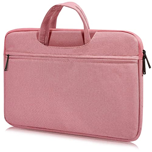 360/° Protective Notebook Bag Girls Women HP Envy//Spectre X360 13.3 Dell Inspiron 13 Surface Book 13-13.5 Inch Waterpoof Laptop Briefcase Bag for Surface Laptop 2 2018 Pink Acer 13.3 Chromebook