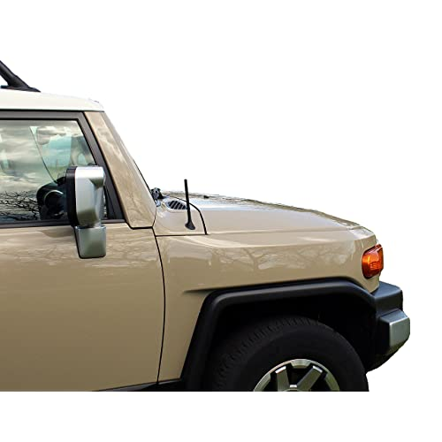 1999-2008 AntennaMastsRus 4 Black Aluminum Antenna is Compatible with Dodge Ram Truck 1500 Made in USA