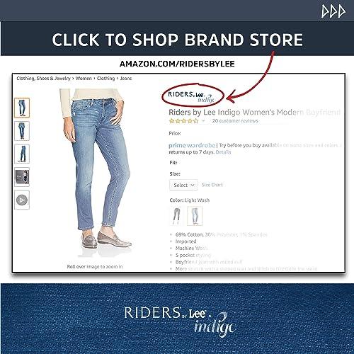 0ebc3dbe5d83 PrevNext. PrevNext. Riders by Lee Indigo Women's Plus Size Comfort  Collection Knit Pocket Pant