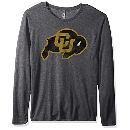 Ouray Sportswear NCAA Colorado Buffaloes Mens Confluence Hoodie Athletic Heather Large