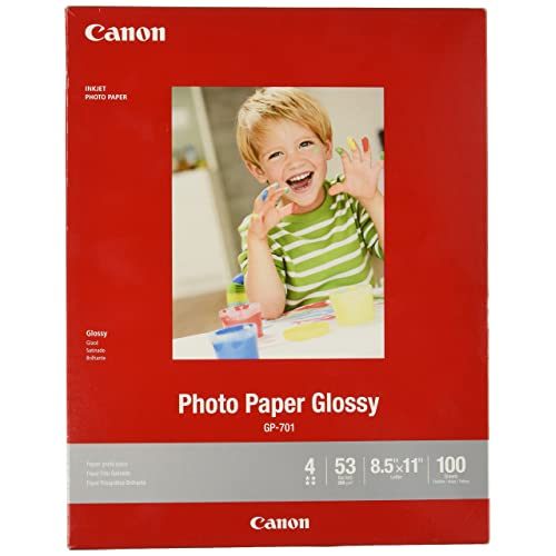 "CanonInk 1432C003 Photo Paper Plus Glossy II 8.5/"" x 11/"" 20 Sheets"