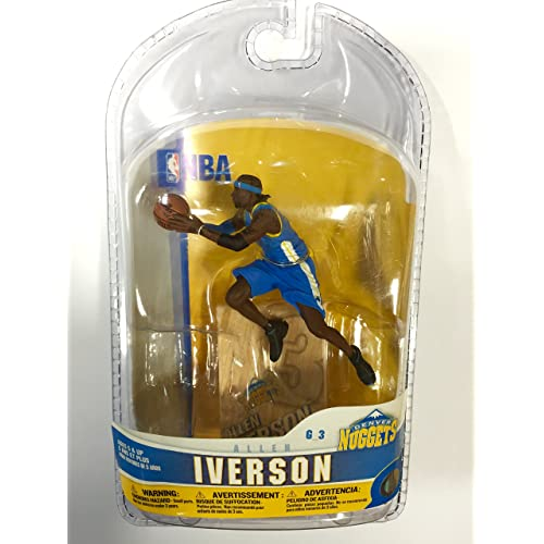 McFarlane Sports NBA Series 1 Allen Iverson Variant Action Figure New Amricons