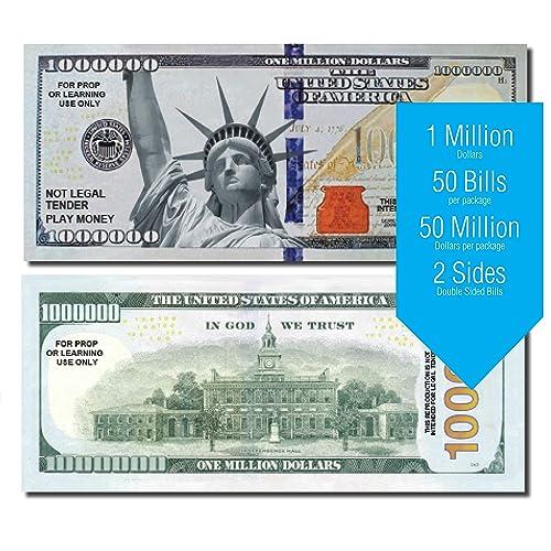 Elvis Presley Novelty Million Dollar Bill Set of 50 Factory Fresh Bills