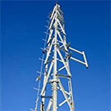 c//w Base Feet and Tie-rods 5.94.0410.130 Sections 4-16 w//10HD Trylon Knocked-down 130 S410 SuperTITAN Self-Supporting Tower
