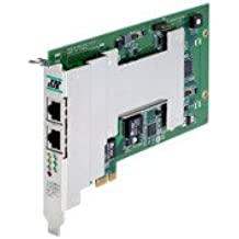MOXA CP-104UL-DB9M 4-Port RS-232 Board DB9 Male Cable Include,Universal PCI Bus,Low-Profile,230.4Kbps Male DB44,Embedded Surge Protection 16KV ESD