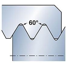 1.5 Sandvik Coromant R166.0L-11MM01-150 1020 PVD Coated Solid Carbide U-Lock Threading Insert Metric Thread Pack of 2