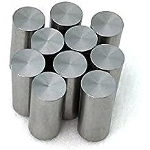 """HLRM TIG Welding Tungsten Electrode 2/% Thoriated Tungsten 1//8/"""" x 7/"""" 10 Rods Red, WT2032"""