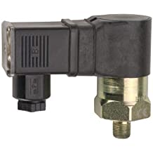 5-15 Hg Range Gems PS82-10-6MSB-B-CAB36 Series PS82 Economical Miniature Vacuum Switch 9//16-18 SAE Male Brass Fitting Pack of 10 36 PVC Cable SPST N.C Circuit