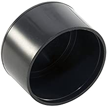 for Hole Size from 19//32 to 3//4, incl. 5//8 inches, 15-19mm Furniture Finishing Dome Shaped Plug 8pcs Pack: 20mm Round Spherical Black Plastic End Cap