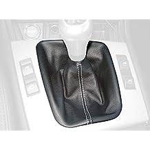 Cuero Negro Costura ROJA RedlineGoods Gauge Hood Cover Compatible con Scion FR-S 2012-16