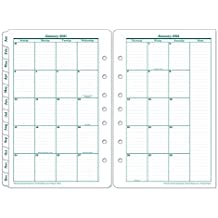 Jun 2021 Jul 2020 FranklinCovey Classic Hpov Two Page Monthly Ring-Bound Tabs