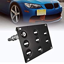 runmade Sunglasses Holder Black Case Storage Box Replacement for BMW 3 5 6 7 X3 X5 X7 Series Glasses Driver Side Over Overhead Grab Handle for E70 E90 F10 F15 F30 G30