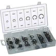 Ochoos Retaining Rings for Bores,Internal Retaining Rings Circlip Assortment Kit,C-Clip,Stainless Steel,270 Piece
