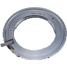 FX to Nikon Z Lens Adapter Silver Compatible with for Fujifilm Fuji FX Lens to /&for Nikon Z Mount Z6 Z7 Full Frame Camera