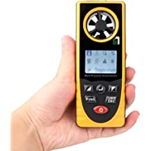 Flavor : GM8903 WXQ-XQ Digital Anemometer GM 8903 Wind Speed Temperature Air Volume Measurement High Precision Measurement Easy Compact Portable LCD With Easy-to-use Probe
