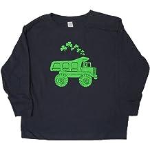 Sunshine Mountain Tees Boys Firetruck Shirt