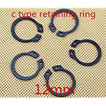 Ochoos Retaining Rings for Bores,Internal Retaining Rings Circlip Assortment Kit,C-Clip,Stainless Steel,270 Piece