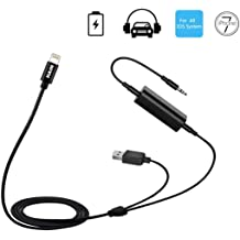 HAIN in-Car Micro USB /&3.5mm Audio Male Jack for Samsung Galaxy /& Tabs HTC LG Android Phones Aux Music Charging Interface Adapter for BMW Mini Cooper IDRIVE