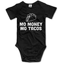 Baby Onesies I Love Tacos 100/% Cotton Bodysuits Super Power Short Sleeve Bodysuit