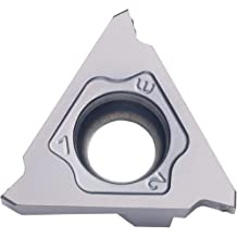 Uncoated Carbide THINBIT 3 Pack LGT092D5R 0.092 Width 0.230 Depth Aluminium and Plastic Without Interrupted Cuts Grooving Insert for Non-Ferrous Alloys Sharp Corner