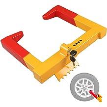 YITAMOTOR 5.5 Motorcycle Removable Trailer Locking Wheel Chock Tire Holder