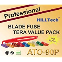 US Grade w//Add-a-Circuit 90 PCS Professional ATO Blade Fuse Set Assort CarTruck