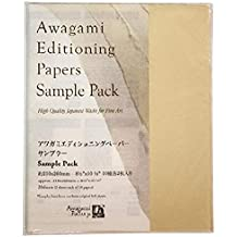 20 Sheets Awagami Kozo Thick Natural Fine Art Inkjet Paper 110gsm A4 8.27 x 11.69