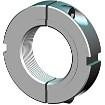 UNF .375-24 Right-Hand Thread Whittet-Higgins CNF06-24S Stainless Clampnut//Shaft /& Bearing Locknut Collar Self-Locking,