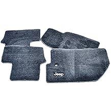 Genuine Jeep Accessories 82210598AC Slate Gray Winter Floor Mat