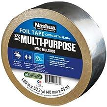 Nashua CLEANDRAPE//220 Clean Drape Double-Sided Sheeting Tape 2 x 60 ft Natural//Blue