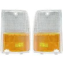 Side Marker Signal Blinker Corner Parking Light Lamp Pair Set for 97-99 ES300