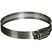 1//2 to 29//32 Diameter Range Breeze Power-Seal Stainless Steel Hose Clamp 1//2 Bandwidth SAE Size 8 Worm-Drive Pack of 10