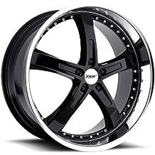 17 x 8. inches //5 x 107 mm, 40 mm Offset TSW Nurburgring Grey Wheel with Matte Gunmetal Finish