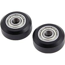 UKCOCO 12pcs High Precision Aluminum GT2 20Teeth 5mm Bore Timing Belt Pulley for RepRap 3D Printer