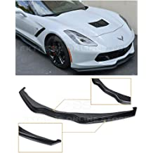 Z06 Z07 Stage 3 Style Rear Trunk Lid Wing with Light Tinted WickerBill Spoiler ABS Plastic - Painted Carbon Flash Metallic Extreme Online Store Replacement for 2014-2019 Chevrolet Corvette C7
