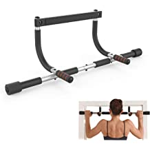 Portable Detachable Pull Up Door Bar Chin-up Upper Body Trainer Fitness Bar Gym System MezoJaoie Pull Up Bar Doorway