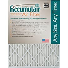 Accumulair FD16X25 Diamond 16x25x1 15.5x24.5 MERV 13 Air Furnace Filters 2 Pack