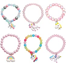 Unicorn Stocking Stuffers for Kids Silicone Bubble Bracelet Pack for Kids FROG SAC 3 PCS Unicorn Bracelets for Girls Unicorns Theme Birthday Party Favors and Goodie Bag Fillers for Little Girls