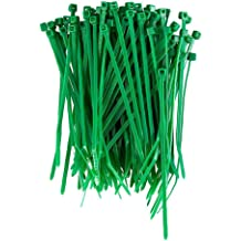 "100 PCS 4/"" in Black Network Cable Cord Wire Tie Strap Zip Ties Nylon UV K-100MU"