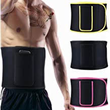 43.3 Long with 8 Wide Flexible Neoprene Sweat Stomach Weight Loss Wrap RIZON Waist Trimmer Belt for Women /& Men Include a Carry Pocket Workout and Lumbar Support ab Trainer with Sauna Effect