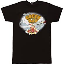 Green Day Band T shirt Dookie Album Cover Punk Rock New White Tan