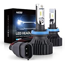 Pair LED Headlight Conversion Kit 9006 HB4 240W 6500K 24000LM Bulbs Low Beam 2pc