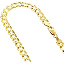 Sterling .925 Silver Rhodium Finish 1.8mm Diamond Cut Popcorn Chain Necklace Lobster Clasp by IcedTime