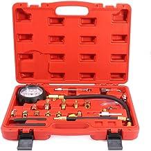 ECCPP Fuel Injection Pump Pressure Tester Manometer Gauge System Test Kit 0-140 PSI