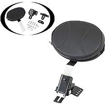 KOLEMO Adjustable Plug-in Driver Rider Backrest Custom Fit For 1997-2020 Touring Models Road King//Street Glide//Road Glide//Electra Glide