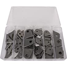 """1//4"""" Laser Cut Steel Weld Gusset Size 3""""x3"""" 90 Degrees Angle Package Of 12"""