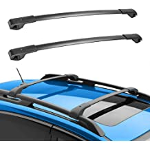 MONOKING Cross Bars Roof Racks Compatible with 2011-2020 Toyota Sienna Crossbar Luggage Cargo Bag Carrier Canoe Bike Kayak Rooftop Lightweight Aluminum ABS 155 LBS Max Load