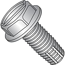 20-Pack The Hillman Group 3164 10 x 1//2-Inch Stainless Hex Washer Head Slotted Sheet Metal Screw
